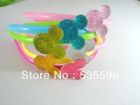 Wholesale 2013 New Hot Sale  Mix Color Christmas gifts Hairbands/Hair bands, Rhinestone Headbands,Hair Accessories, Headwear