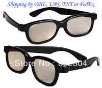 Linear polarized 3d glasses+Fast shipping by DHL, UPS, TNT or FedEx