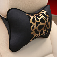 Leopard grain best-selling car headrest pillows headrest of automobiles
