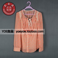 Women's autumn new arrival 2013 s133104c long-sleeve shirt