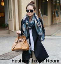 trendy scarf promotion