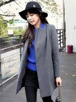 Realcoco brief woolen outerwear