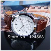 Watch flag series 6-pin calendar week month belt Mens Watch Automatic mechanical watches men's watches