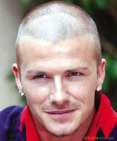 6 to 8 mm square zircon earring titanium steel studs/star men earring, Beckham with diamond stud earrings men