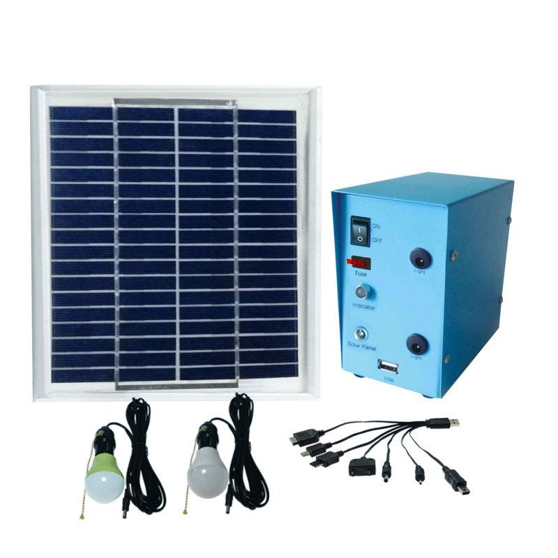 Solar home lighting system, solar outdoor emergency power(China (Mainland))