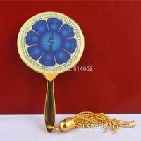 FENG SHUI - The Eight Petal Lotus Mirror of Manjushri Keychain W1085