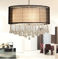 Free Shipping  Mordern Crystal Ceiling Light with Four Lights(220-240v 50cm)60031