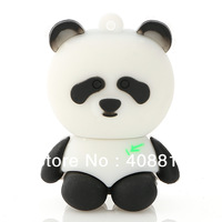 Lovely  Black & White China panda usb drive creative cartoon usb Memory Stick Flash Drive Thumb drive 8G16G32G,Free Shipping