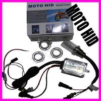 2014 High intensity discharge Motor/Motorcycle Bike HID Lights Kit H6 Hi/Low Xenon Bulbs 12V 35W 6000K
