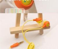 20pcs/lot wholesale fruit smile earphone in ear headphones & earphones headphones free shipping
