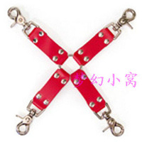 Sexy cross handcuffs adult novelty toys combination flirting supplies