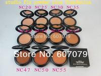 Free hkpost 2pcs/lot profession STUDIO FIX  POWDER PIUS FOUNDATION nc20~nc55 make up powder