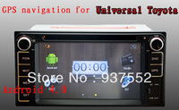 android 4.0 car 2 din dvd for toyota universal