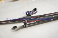 carbon Fiber Bicycle flat handlebar + seatpost + stem + top cap free shipping