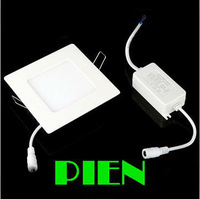 4W Panel led down lights Ultra-thin Square Focos Lampara 2838smd 20 LED fixture Flat for Bathroom Office Free Shipping 5pcs/lot