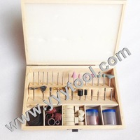 free shipping New polishing tool set Mounted felt point set 100pcs/box with polishers drillers brushes and so on jewelry set