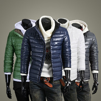2013 Fashion Winter Thermal Cotton-padded Overcoats,Casual Men's Waterproof coats & jackest Down & Parkas,Dropshipping M-XXL