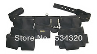 Carpenters Tool Belt, Waist tool bag with 16 Pocket