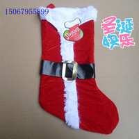 10 pcs/lot Christmas gift - christmas gift bag christmas stocking socks