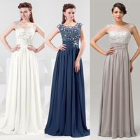 Free Shipping 1pcs/lot Grace Karin New Chiffon Bridesmaid Wedding Party Prom Long Evening Dress In stock CL4473