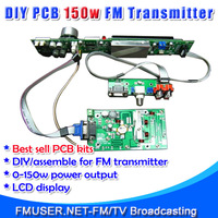 FMUSER FSN-150K 150W FM Broadcast Transmitter Assemble PCB DIY Kit Amp+Control+LCD Display