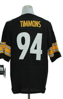 2013 New Arrival!!!American Football Elite Jersey #94 Lawrence Timmons Black Elite Jerseys Men's Size 40-56 All Stitched