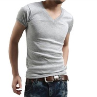 Men's t shirt V Neck Summer hot-selling Free Shipping M4004