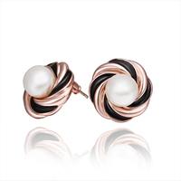 2014 Hot Sale New Fashion Alloy Jewelry  Austrian Crystal Stud Earrings Wholesale 18KGP E558