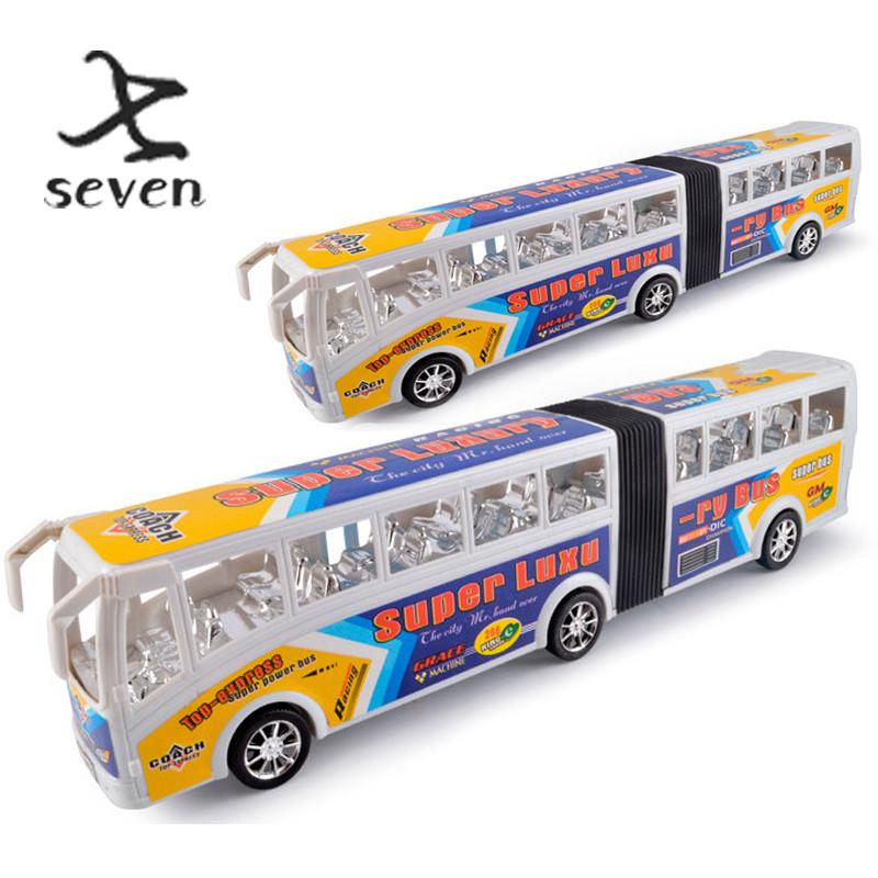 Grande ônibus carro ônibus inércia modelo de carro de brinquedo(China (Mainland))
