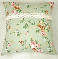 PROMOTION!FREE SHIPPING! X-mas gifts Romantic Garden style flower pillow/cusion 45*45cm