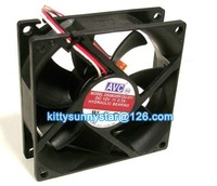 NEW Original AVC 8025 DS08025R12U-011 12V 0.7A 3Wire Hydraulic Bearing Fan,Cooling Fan * Free shipping by express