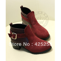 free shipping 2013 fashion pointed toe personalized boots brief all-match elegant boots