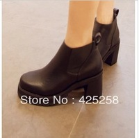 free shipping 2013 hot sale martin boots spring and autumn  motorcycle small platform boots