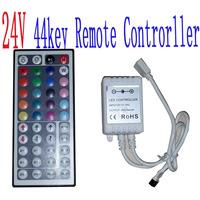 AAA DC 12V 24V 44KEY RGB remote controller  led strip freeshipping