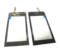 Touch Screen Digitizer for Samsung Wave 723 S7230 Black color free shipping