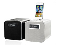 Bluetooth playback, for apple 4s, 5s for ipadmini + Andrews full-line product, FM / 5 Equalizer effects / alarm clock / white