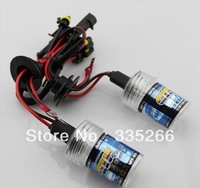 Free shipping,one pair 12V AC 35w HID xenon bulb,H1 H3 H4-1 H7 H11 H13 9005 9006 single beam lamp For car headlight!!
