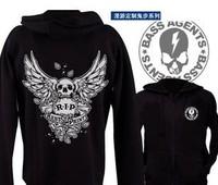 Large cap ghost step dance sweater sweater Melbourne Yi Dance Reggae Rock Metal Heaven skull hoodies