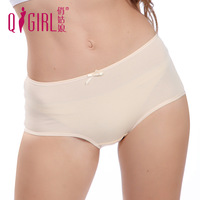 4 elastic seamless panties female women's small trunk 1 plus size