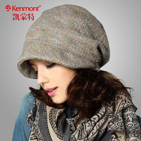 free shipping 2013 new Kenmont winter hat female autumn and winter beret hat female fashion pile cap women hat km-1516
