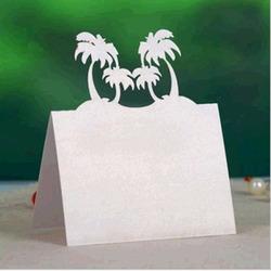 Laser plaats kaarten gesneden strand thema bruiloft tafel naamkaartjes ...  Undercut Vertaling