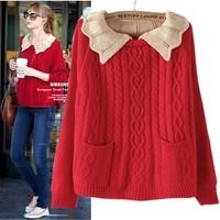 New Batwing Shirt Outerwear Fashion women's Loose Sweaters Winter Knitwear Cheap Sale