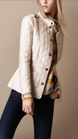 2013 winter lady short design women's cotton-padded Coat outerwear lady warm  wadded jacket High Quality Overcoats