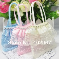 Party Nonwoven Fabric Favors Boxes, Baby Gift Organza Packaging Bags, Favour holding Cases 120pcs/lot