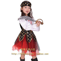 Halloween child clothes child deluxe child pirate clothes male pirate set  cheap christmas costume