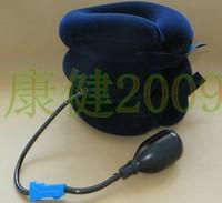 Full velvet cervical traction device household medical cervical vertebra traction device inflatable collar