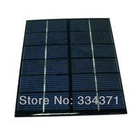 Grade A 5pcs/lot Silicon Solar panel 6v 2w solar cell 136x110x3mm