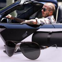 2014 New High Quality Vintage Men Sunglasses David Beckham Loved Polarized Brand Designer Fashion Sunglasses