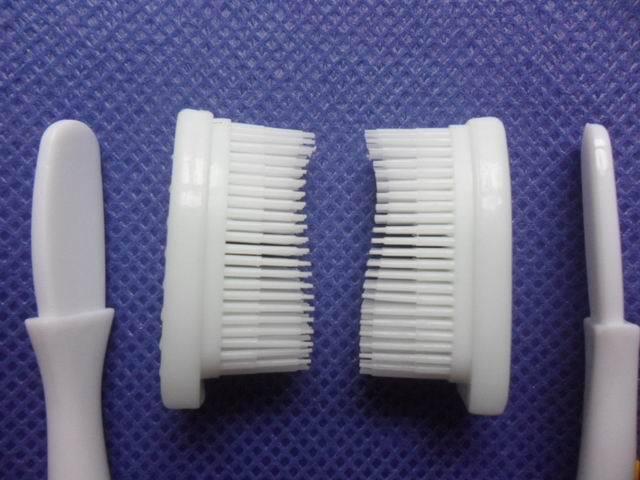 Free shipping Universal Silicone nano toothbrush replacement head, sending toothbrush handle 30 pcs/lot(China (Mainland))