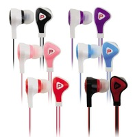 10PCS/Lot Freeshipping Wholesale  3.5MM In Ear Earphones and headphone For Iphone 5 Mobile Phone HTC/THL/MP3/MP4 Colorful